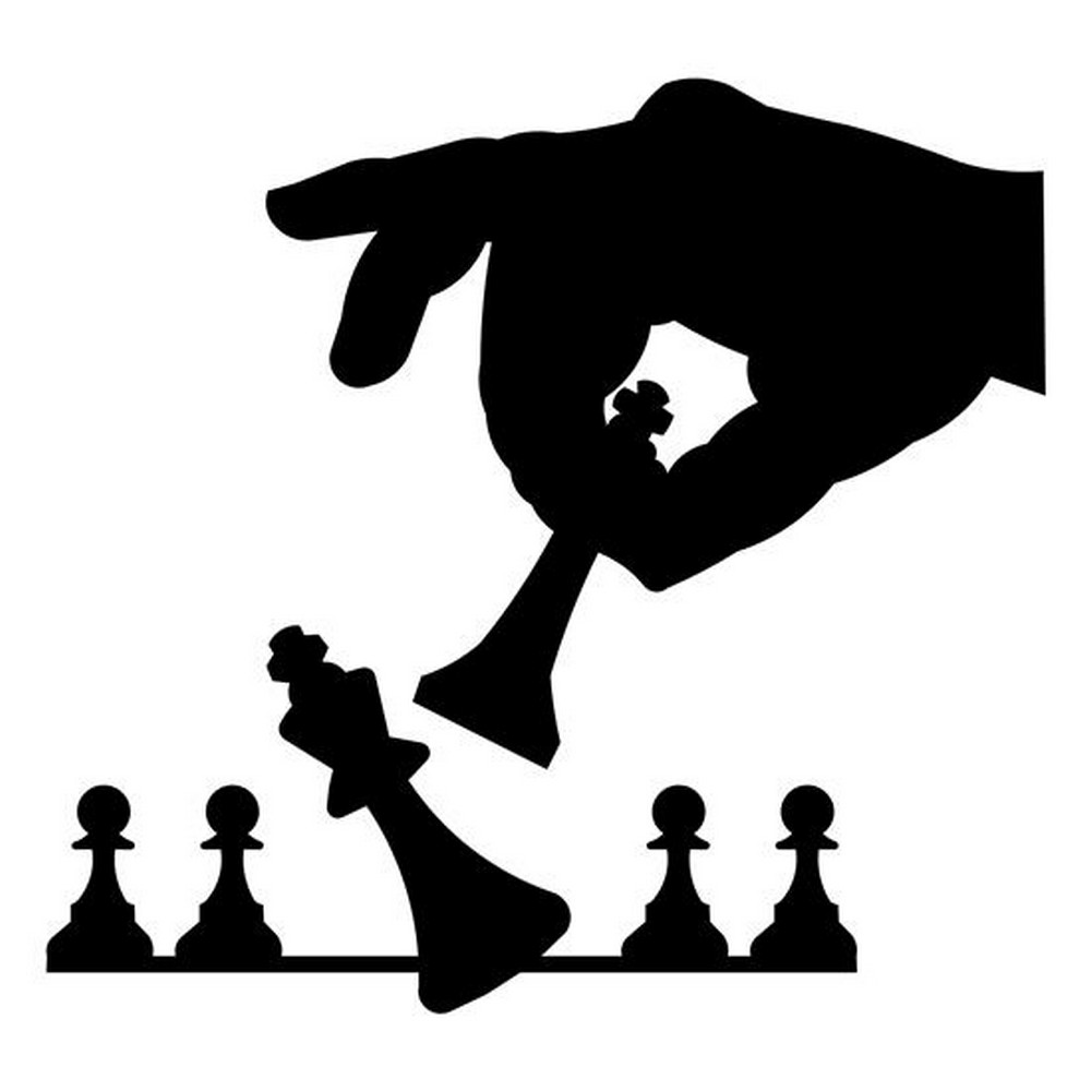 Rbs Silhouette Chess Player Scrappin Sports Stuff