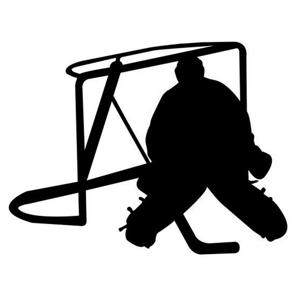 Rbs Silhouette Hockey Goalie Scrappin Sports Stuff