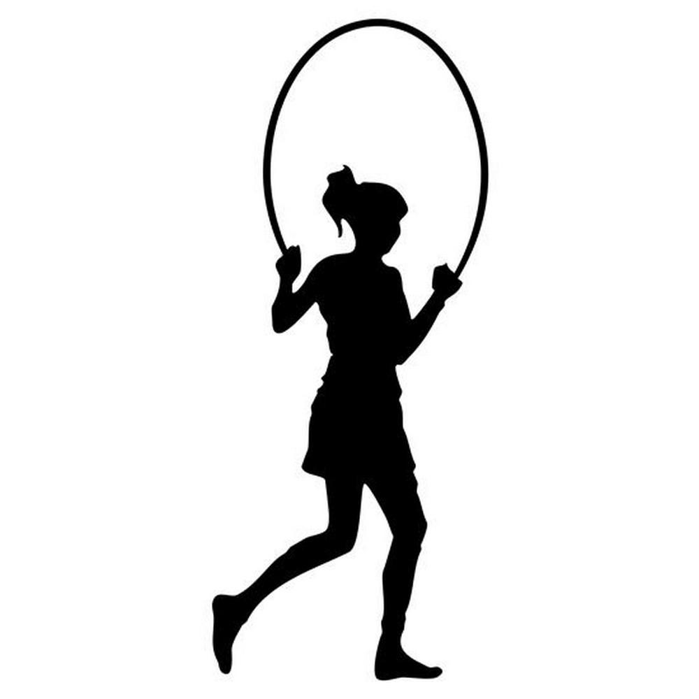 RBS - Jump Rope Silhouette 02 : Scrappin Sports Stuff
