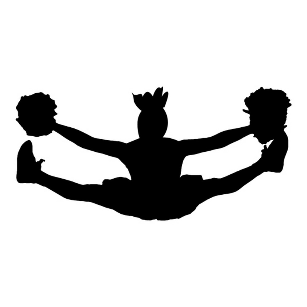 rbs silhouette cheer straddle scrappin sports stuff